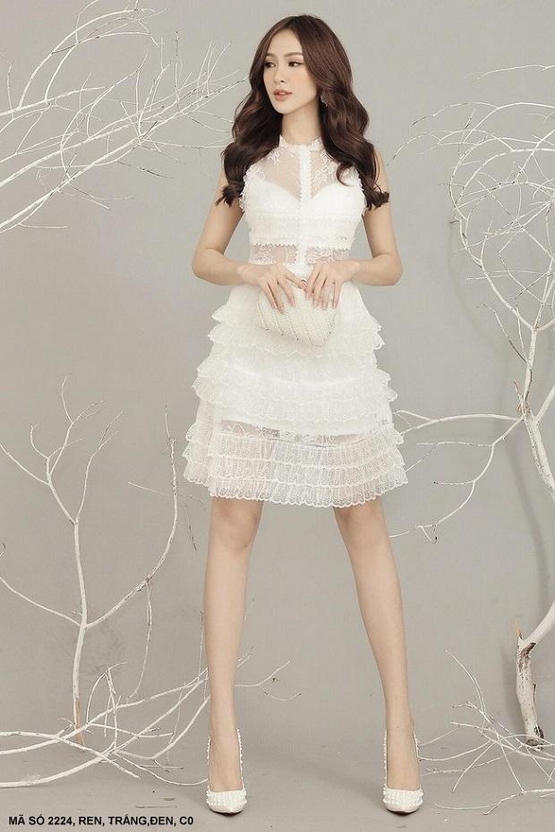 cô nàng cũng ưa chuộng mẫu váy tầng hay váy đuôi cá thanh lịch.