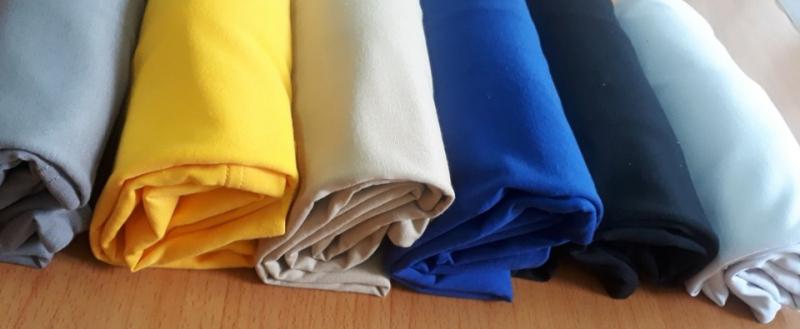Chất liệu áo thun tại Leeza được may từ chất liệu cotton, mềm mịn, sợi vải cotton tạo độ thông thoáng khi mặc