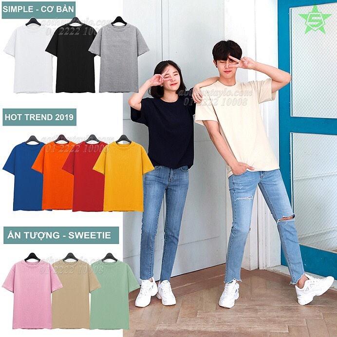 Sản phẩm áo thun tại STVR kiểu dáng và màu sắc đơn giản để bạn dễ phối đồ với những trang phục thường ngày