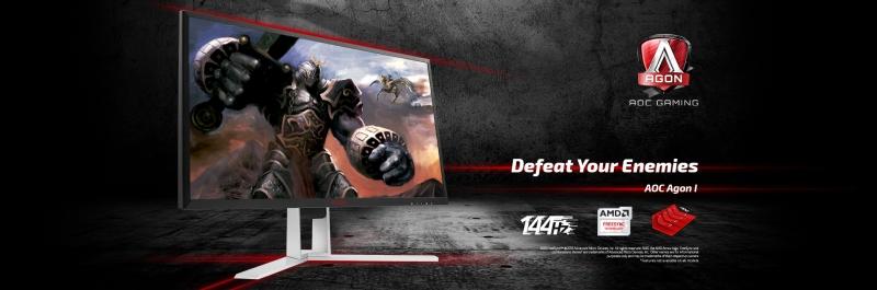 Với tần số điểm ảnh 144Hz màn hình dễ dàng cho ra hình ảnh mượt, không bị vỡ hay lag.