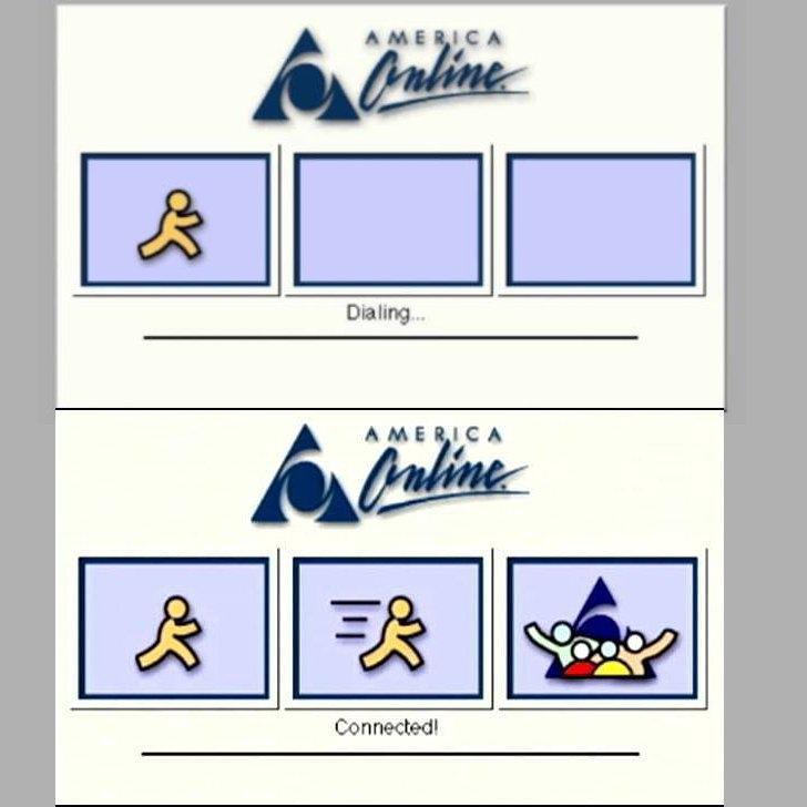 Biểu tượng của AOL