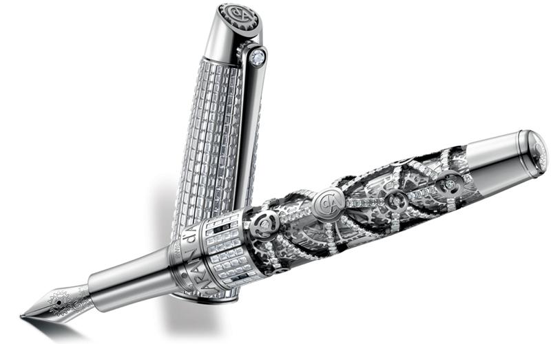 Bút Caran d' Ache 1010 Diamonds Limited Edition Fountain - Cây bút thuộc top 10 bút đắt nhất thế giới (Nguồn: Sưu tầm)