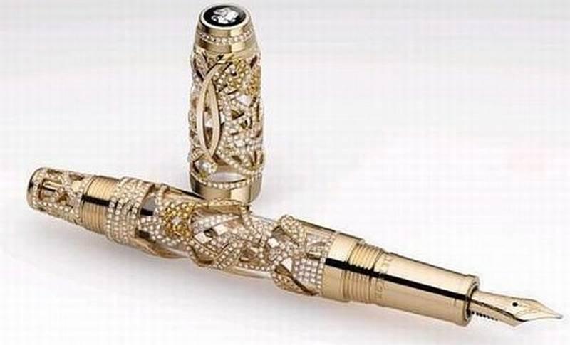 Limited Edition Boheme Papillon - Một cây bút khác của hãng thuộc top 10 cây bút đắt nhất thế giới (Nguồn: Sưu tầm)