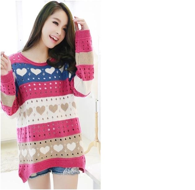 Thời trang áo len phong cách Hàn Quốc mang đến cho bạn sự trẻ trung