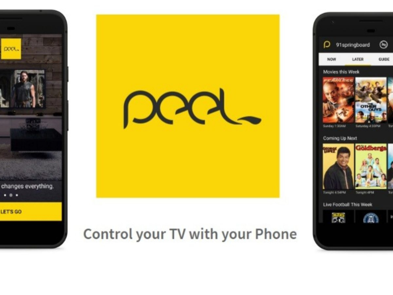App Peel Universal Smart TV Remote Control