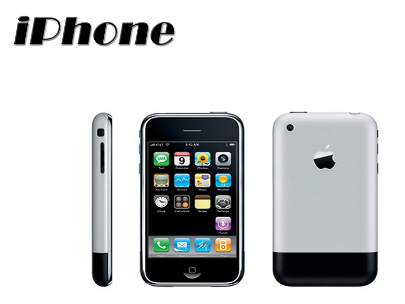 Chiếc IPhone 1 ra mắt lần đầu tiên