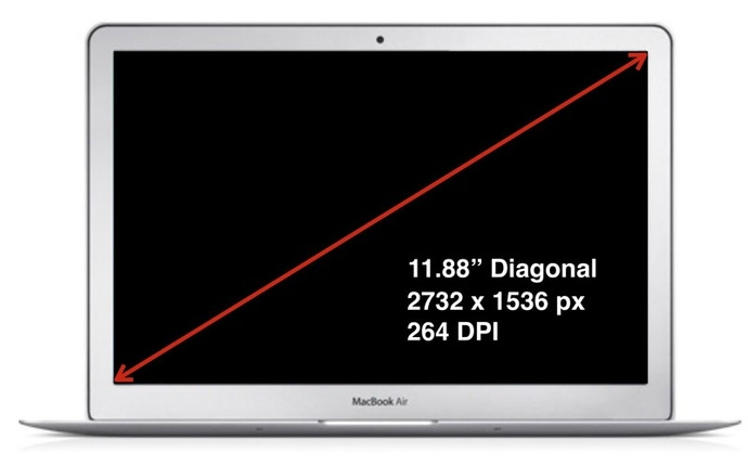 Laptop văn phòng Apple Macbook Air 12 inch