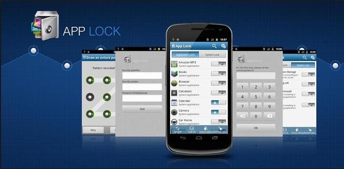 AppLock mang đến cho thiết bị Android chức năng khoá nhiều ứng dụng khác nhau