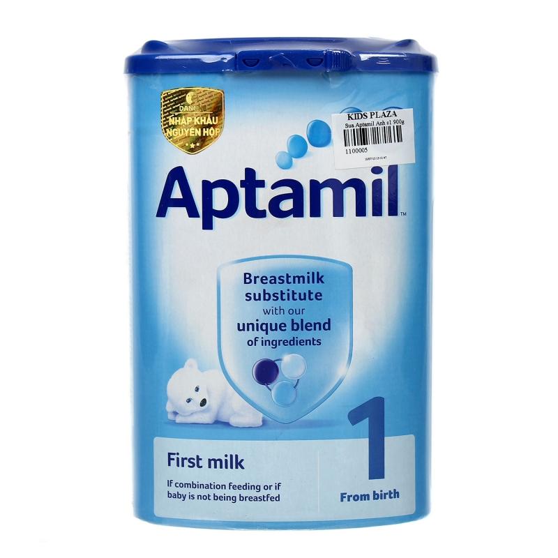 Giá sữa Aptamil khá cao, dao động từ 430.000 - 480.000 VNĐ cho một hộp sữa 900 gr,