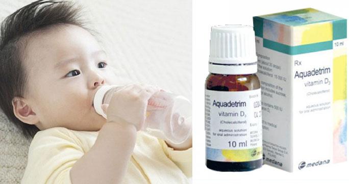 Aquadetrim Vitamin D3 được chỉ định trong dự phòng và điều trị thiếu vitamin D
