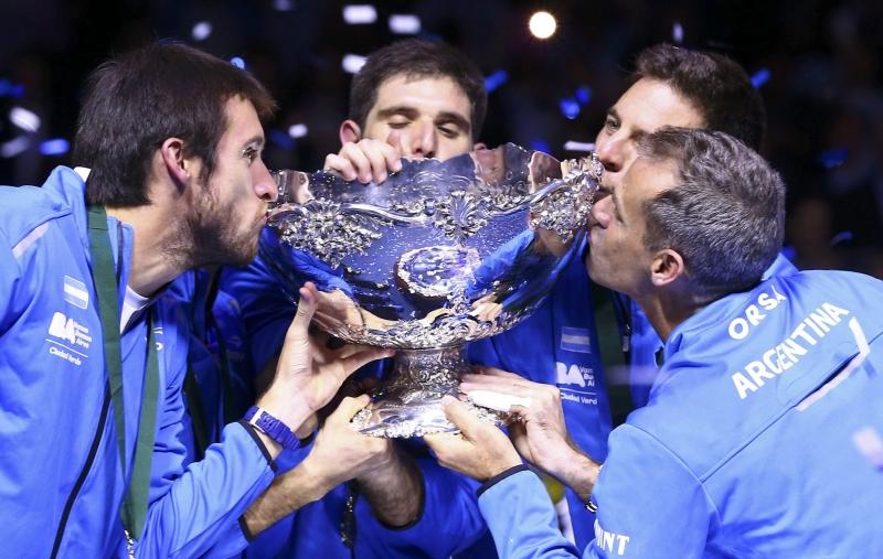 Niềm hạnh phúc của các tay vợt Argentina