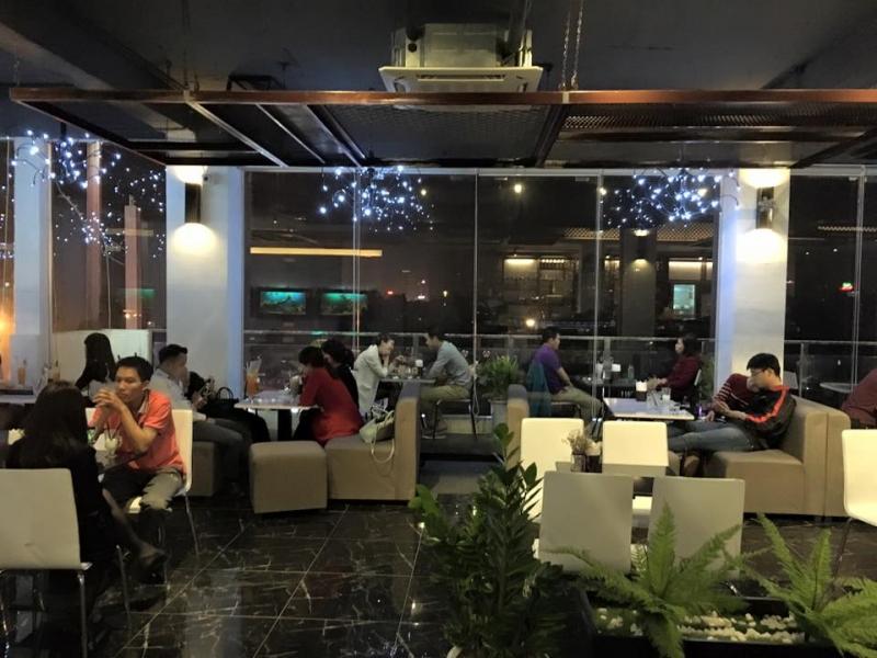 Aries coffee - Quán cafe đẹp trên cao - Tầng 7 Tòa Nhà OCD