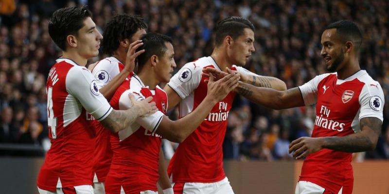 Arsenal sở hữu lối đá tấn công đẹp mắt