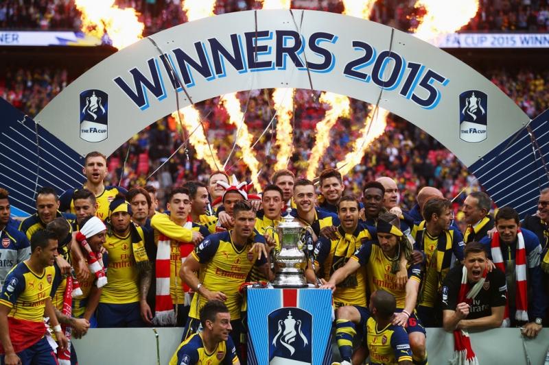 Arsenal là đội bóng vô địch năm 2015