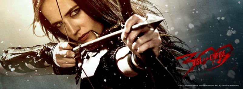 Eva Green hóa thân thành Artemisa trong phim 300: Rise of an Empire