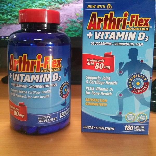 Điều trị thoái hóa khớp hiệu quả với viên uống Arthri-Flex