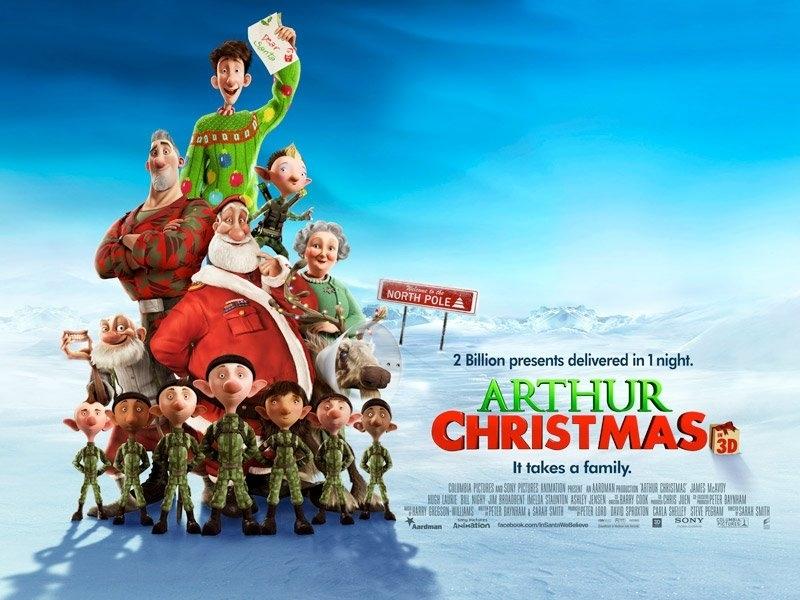 Phim sẽ giúp bạn biết được ông già Noel phát hàng tỷ món quà trong một đêm như thế nào?