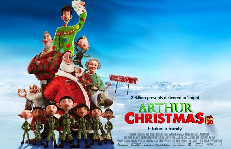 Arthur Christmas (2011)