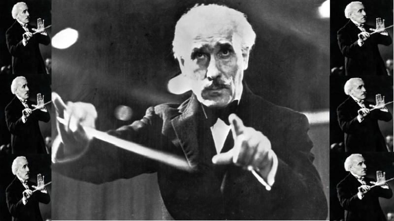 Hình ảnh nhạc trưởng Arturo Toscanini