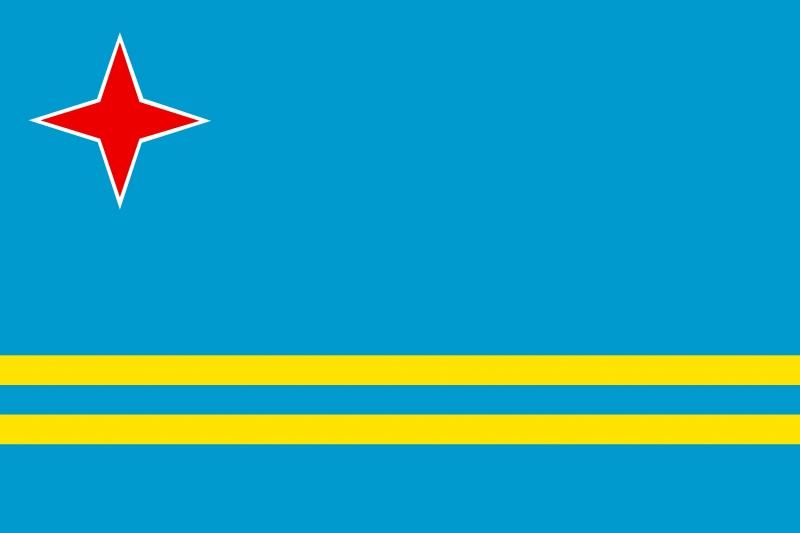 Quốc kì của Aruba
