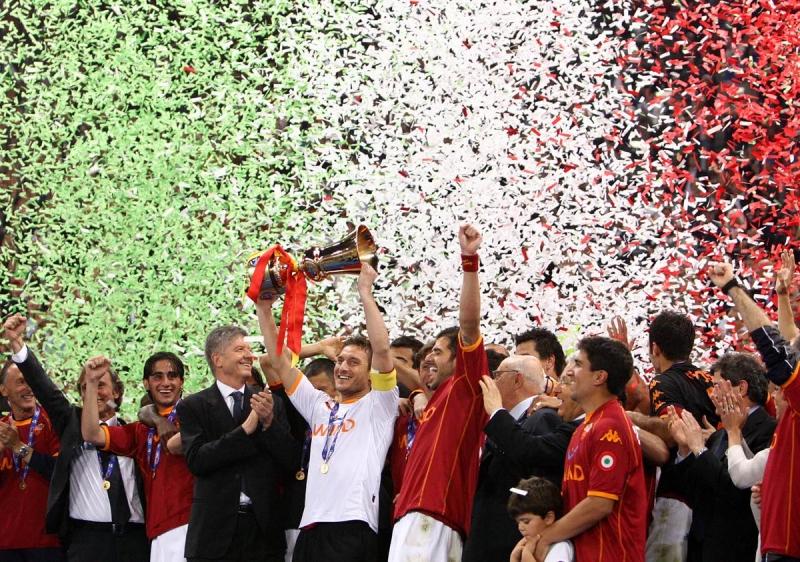 Roma đăng quang năm 2008