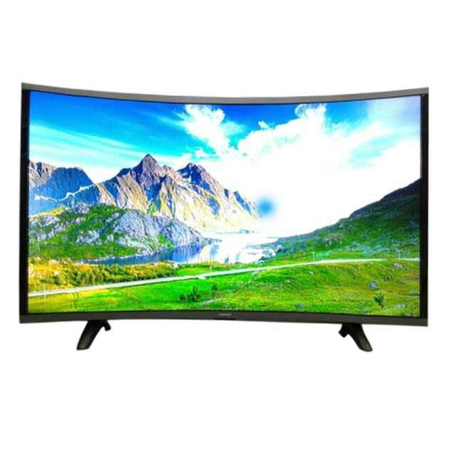 Tivi có thiết kế màn hình cong đặc biệt.