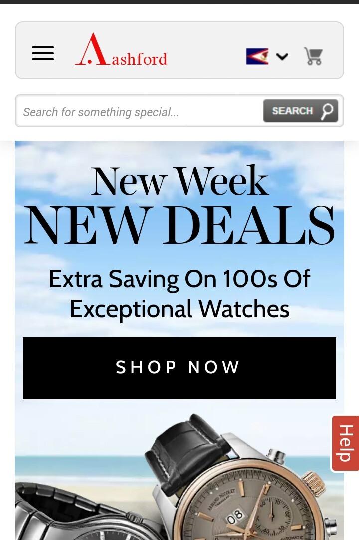 Trang web bán hàng uy tín ở Mỹ ASHFORD.