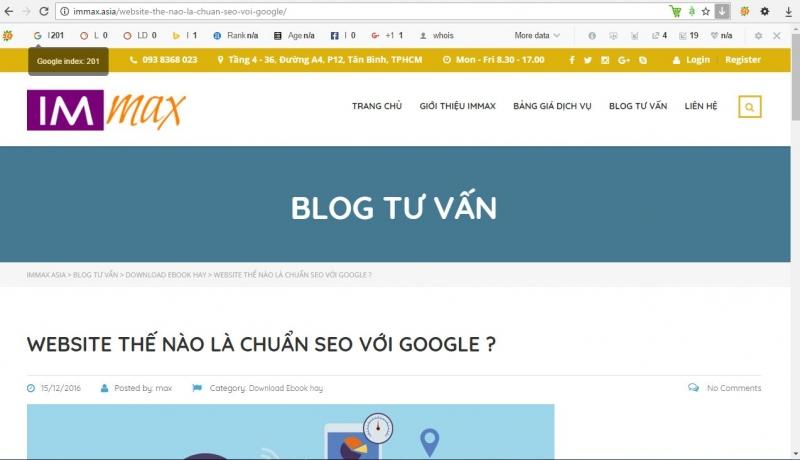 Một trang web với tên miền quen thuộc .asia