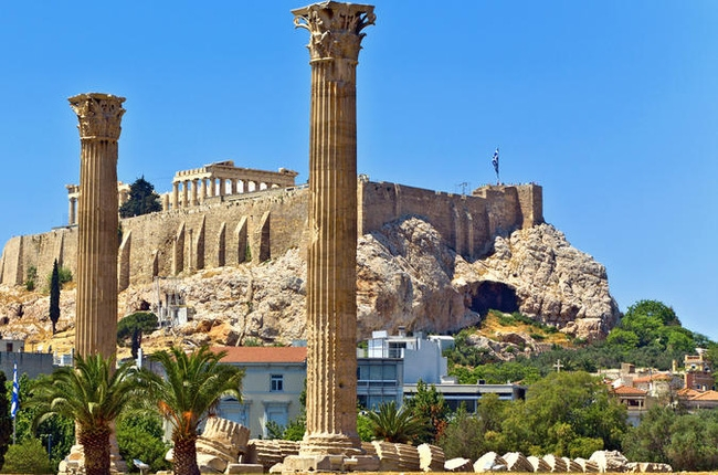 Những cây cột lớn từ xa xưa