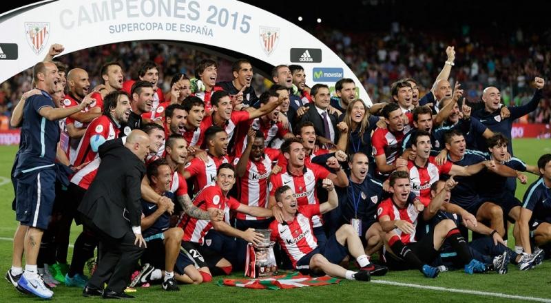 Bilbao giành được siêu cúp TBN 2015 sau khi đánh bại Barca