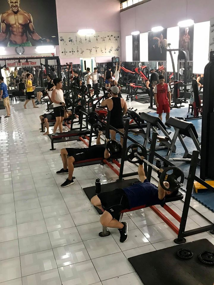 Không gian luyện tập tại Âu Lạc Fitness Center