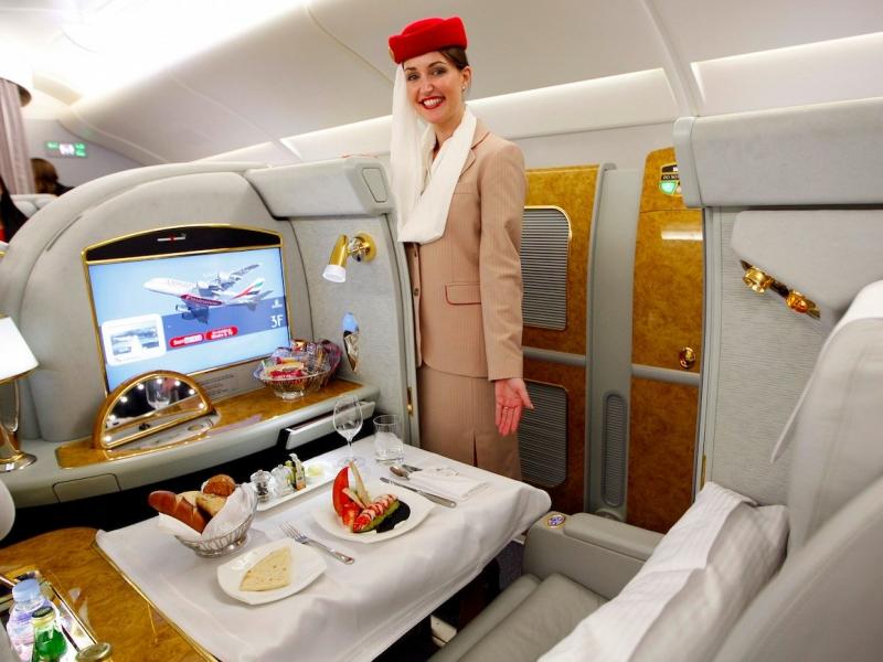 Được sử dụng đầy đủ tiện ích này thì chắc bạn cũng không để ý mình đang đi một trong những chuyến bay dài nhất đâu nhỉ?