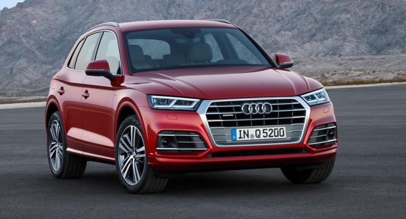 Hình ảnh thực tế Audi Q5 2017