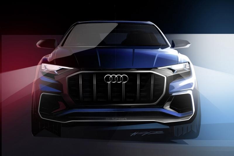 Hình ảnh rò rỉ về Audi Q8 E-tron