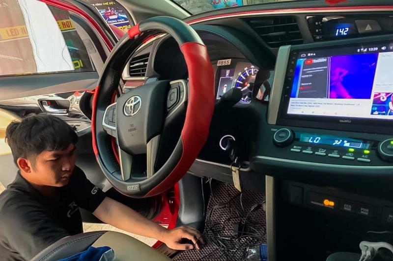 Nhân viên tại Auto 168