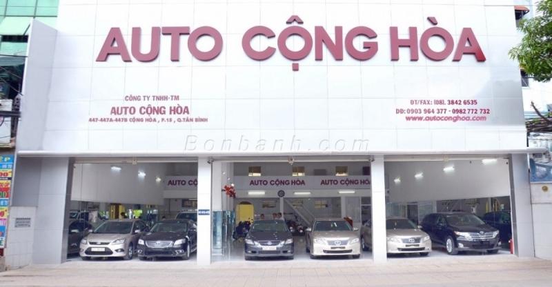 Auto Cộng Hòa là một trong những địa chỉ mua ô tô cũ uy tín nhất ở thành phố Hồ Chí Minh