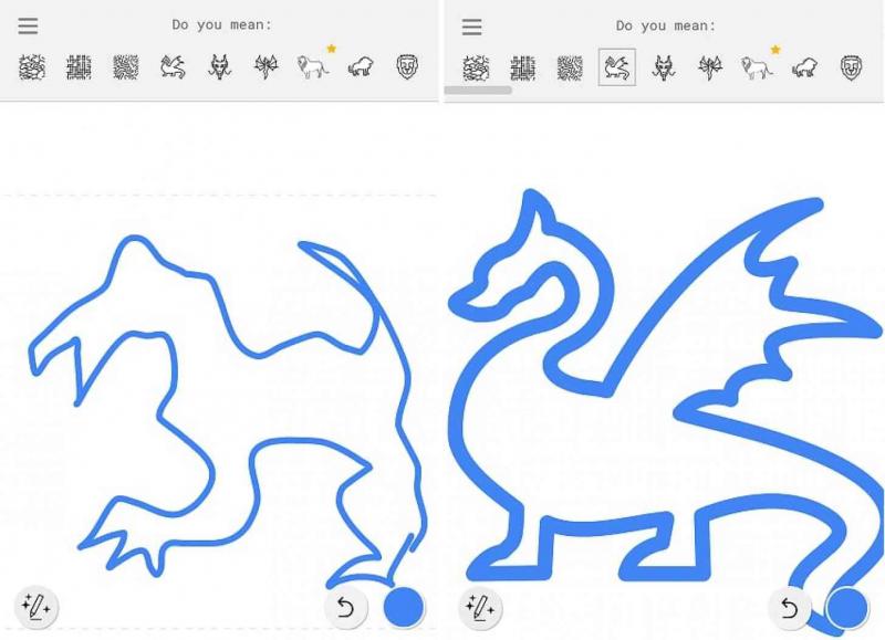 AutoDraw biến nét vẽ thành hình vẽ đẹp mắt thông qua gợi ý