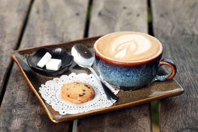 Cafe hấp dẫn tại quán
