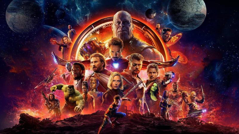 Avengers: Infinity War là bộ phim tập hợp nhiều siêu anh hùng nhất của Marvel