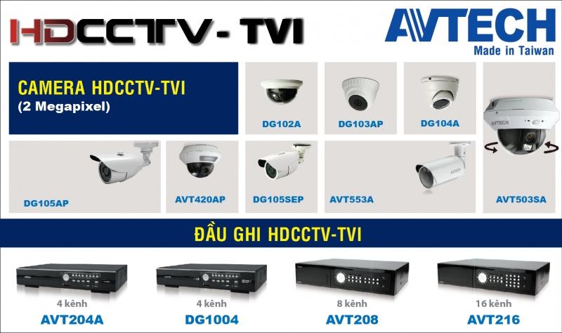 Các dòng sản phẩm của Avtech