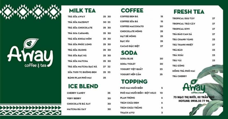 AWAY Juice & Tea