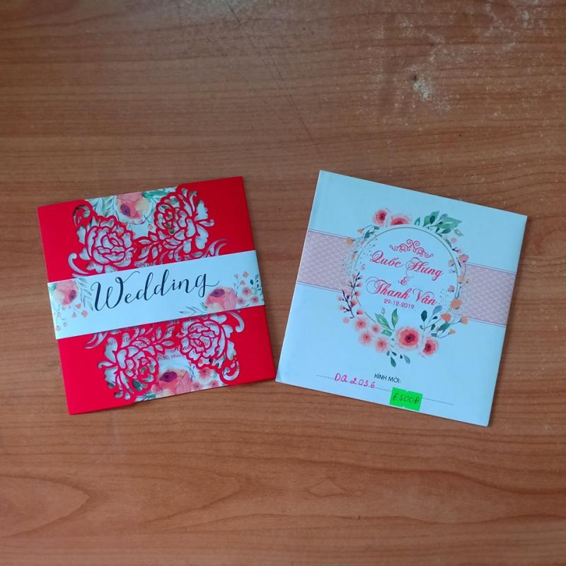 Luôn cập nhật nhiều mẫu thiếp cưới mới nhất. Thiệp cưới Mju Mju phục vụ nhiều tầng lớp giá rẻ - giá gốc có nhiều mẫu mã cho quý khách chọn lựa.