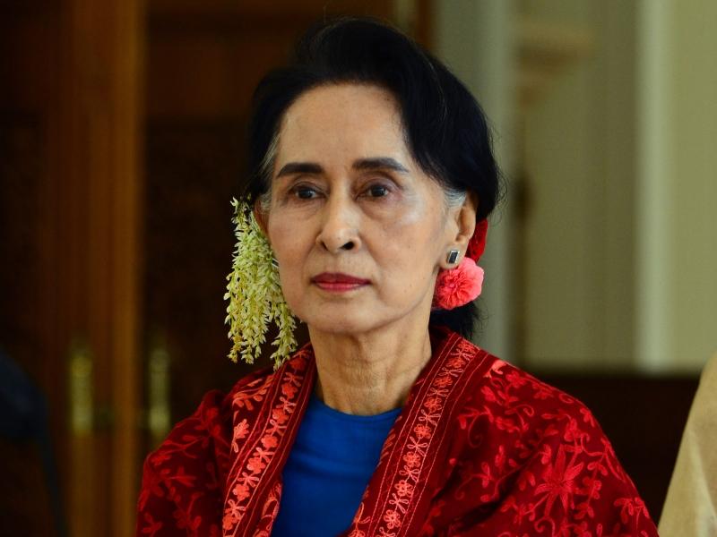 Người phụ nữ quyền lực của Myanmar - Bà Aung San Suu Kyi (Nguồn: Sưu tầm)