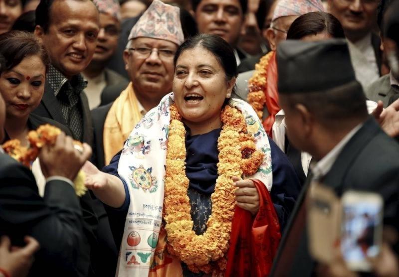 Bidhya Devi Bhandari là nữ thổng thống Nepal đầu tiên trong lịch sử (Nguồn: Sưu tầm)
