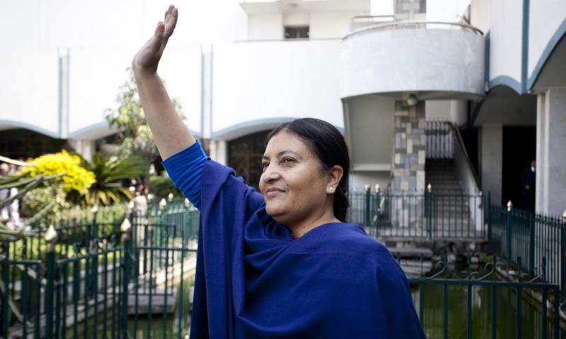 Bidhya Devi Bhandari là một nữ chính trị gia tài giỏi (Nguồn: Sưu tầm)