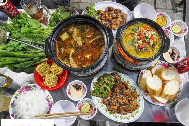 Các món ăn tại Ba Bớp Quán được đánh giá là ngon, bổ, rẻ