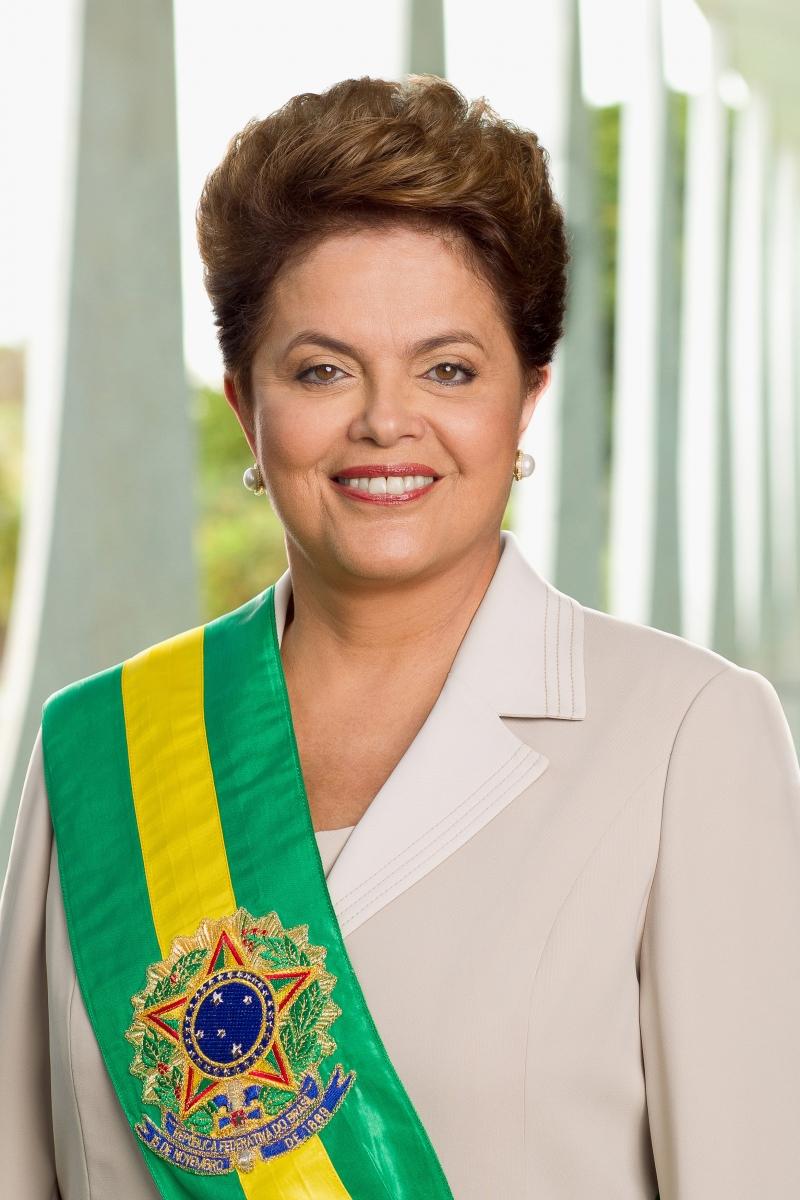 Bà Dilma Rousseff là nữ tổng thống đầu tiên của Brazil (Nguồn: Sưu tầm)