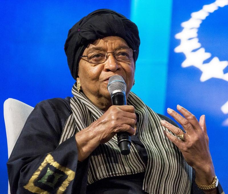 Bà Ellen Johnson Sirleaf là một chính trị gia tài giỏi đã từng nhận được giải Nobel Hòa bình năm 2011 (Nguồn: Sưu tầm)