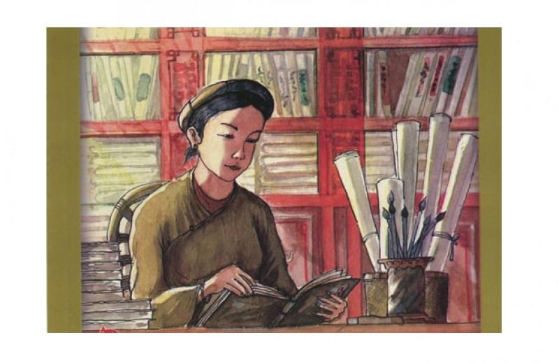 Chân dung Bà Huyện Thanh Quan