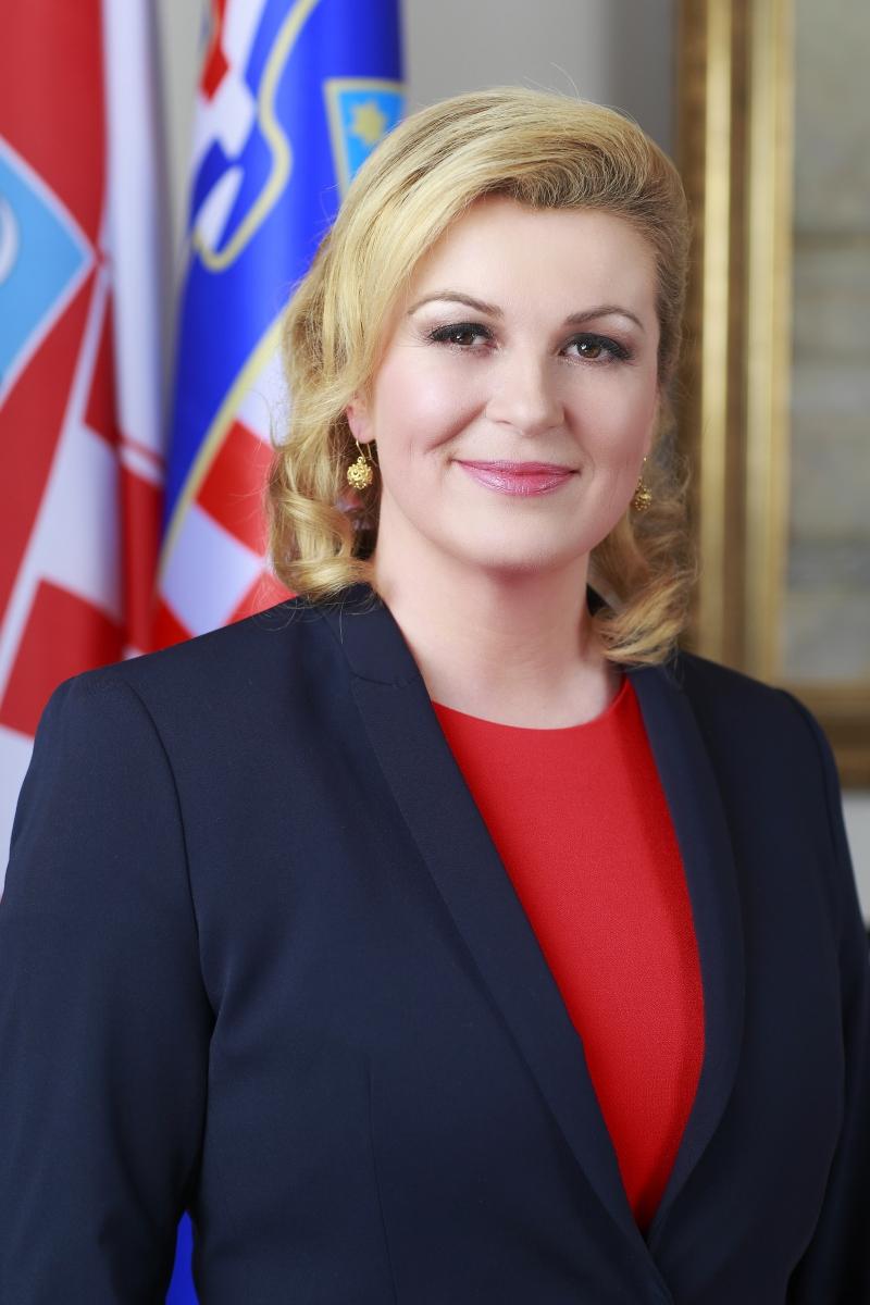Bà Kolinda Grabar-Kitarovic là nữ tổng thống đầu tiên của Croatia (Nguồn: Sưu tầm)